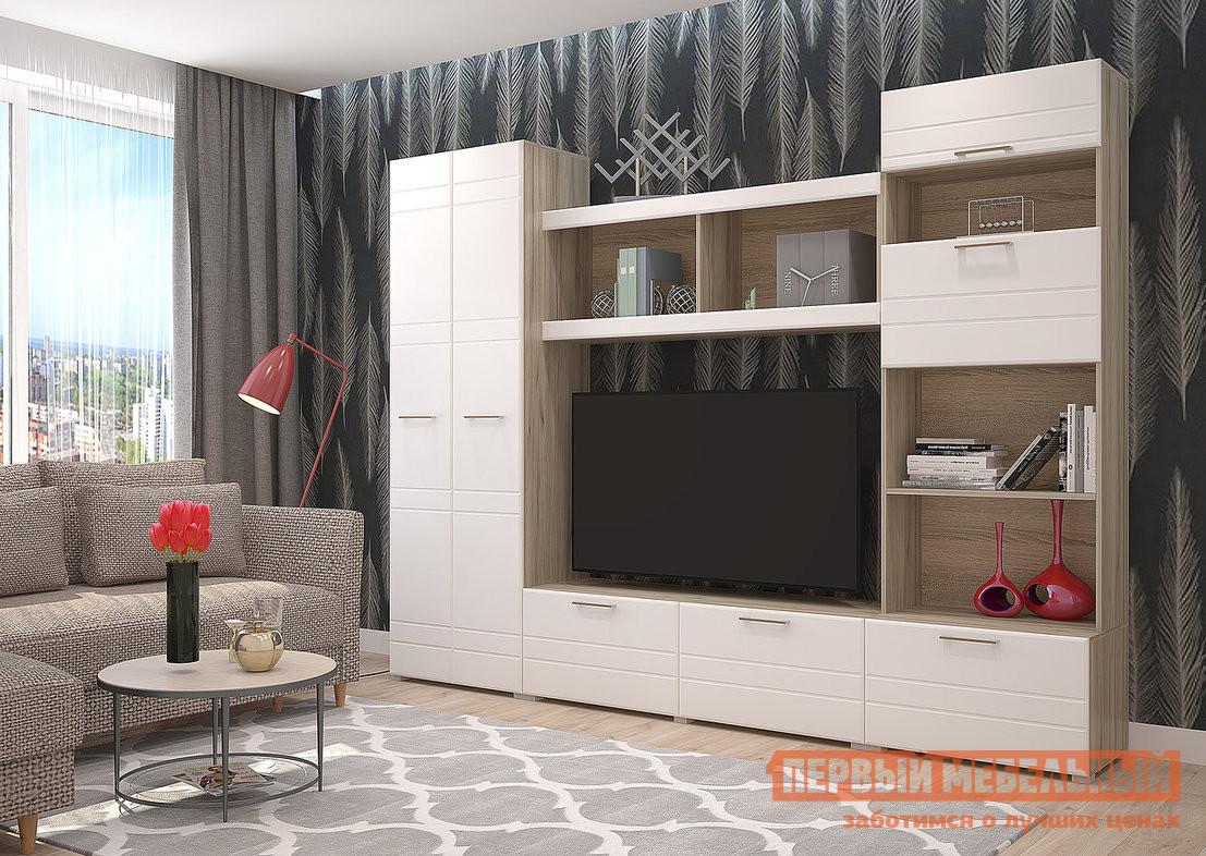Стенка в гостиную Первый Мебельный Юджи