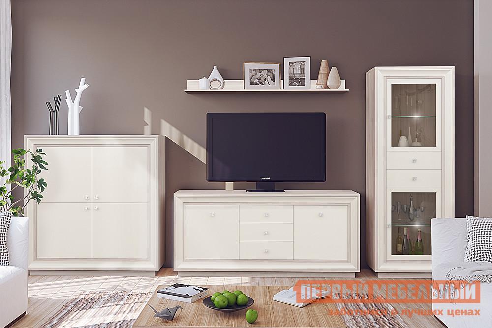 Стенка в гостиную в классическом стиле Первый Мебельный Прато 2 К2
