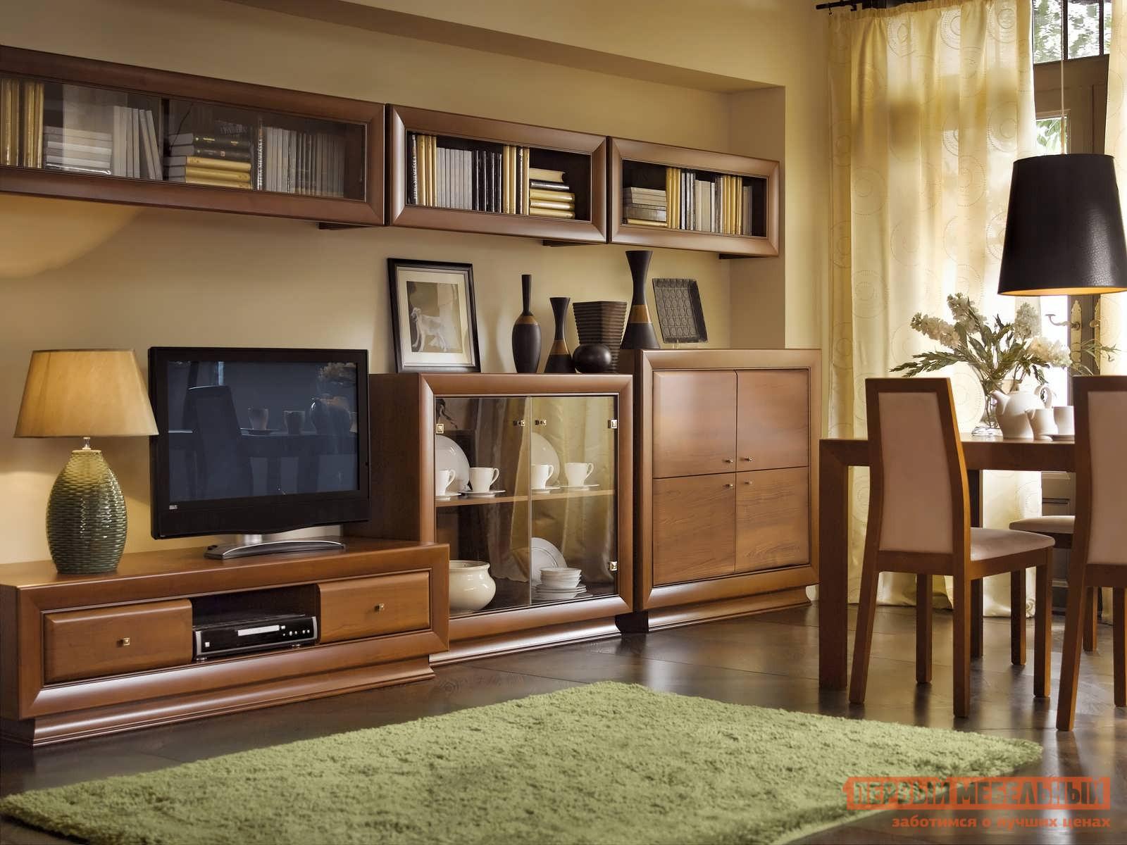 Стенка в гостиную Первый Мебельный Ларго Классик 2