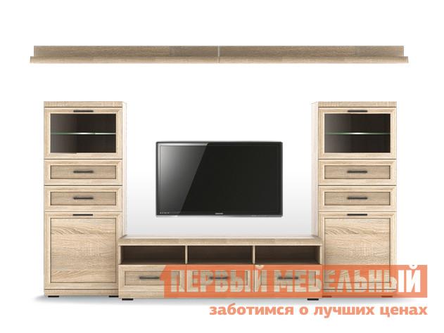 Стенка в гостиную Первый Мебельный Вега Прованс композиция 1