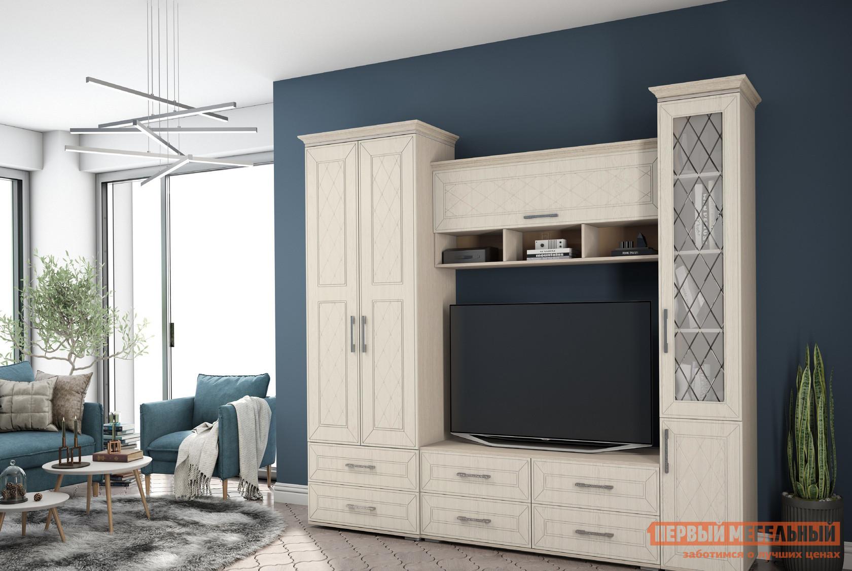 Стенка-горка в гостиную Первый Мебельный Британика