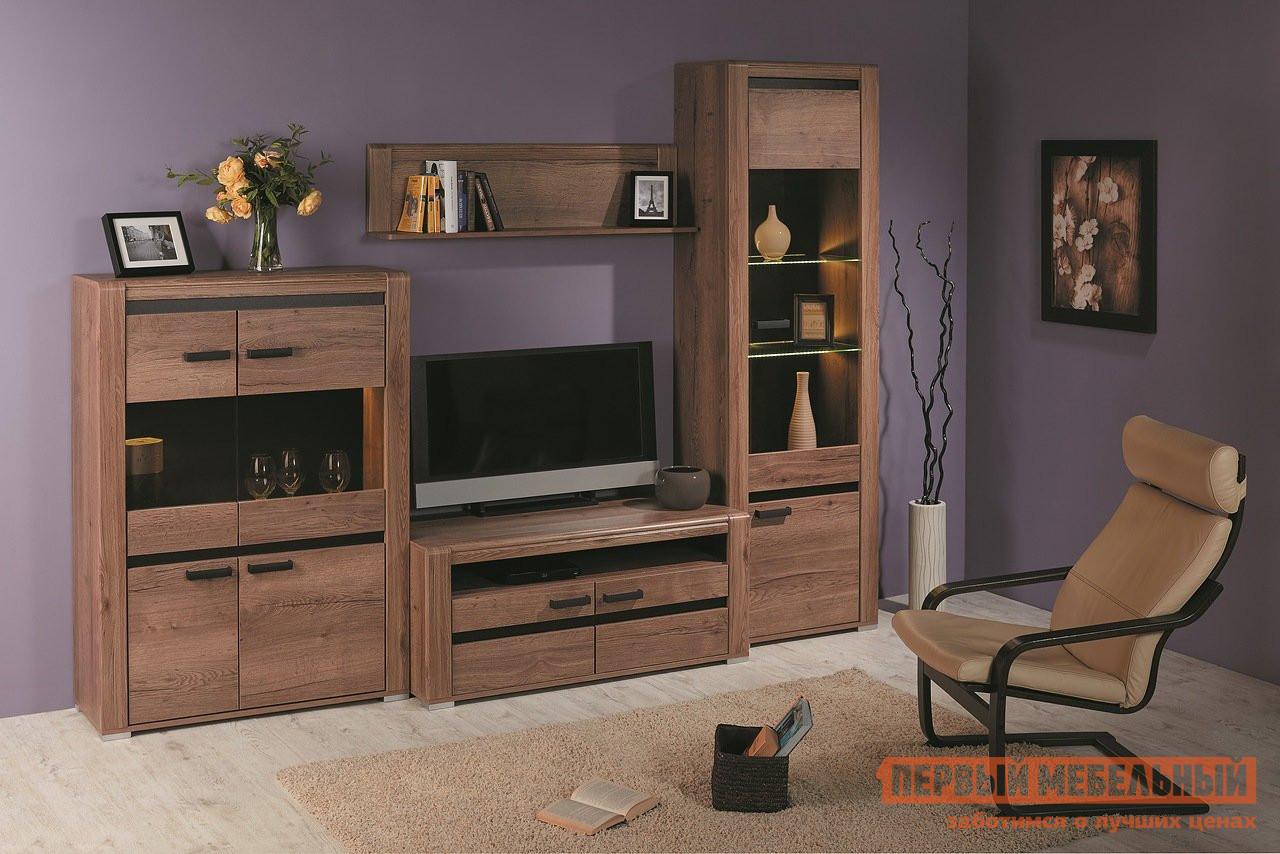 Стенка-горка в гостиную Первый Мебельный Бруна К-1