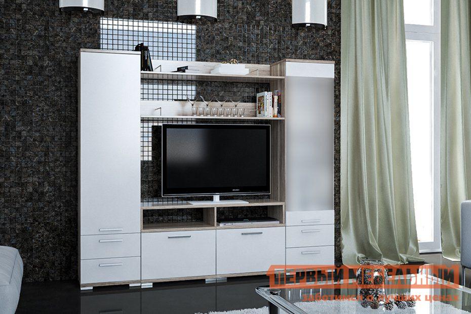 купить Глянцевая стенка для гостиной Первый Мебельный Гостиная Лейла 4 по цене 22530 рублей