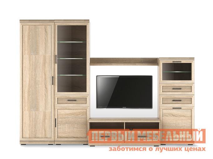 Стенка в гостиную Первый Мебельный Вега Прованс композиция 3 стенка рада 3