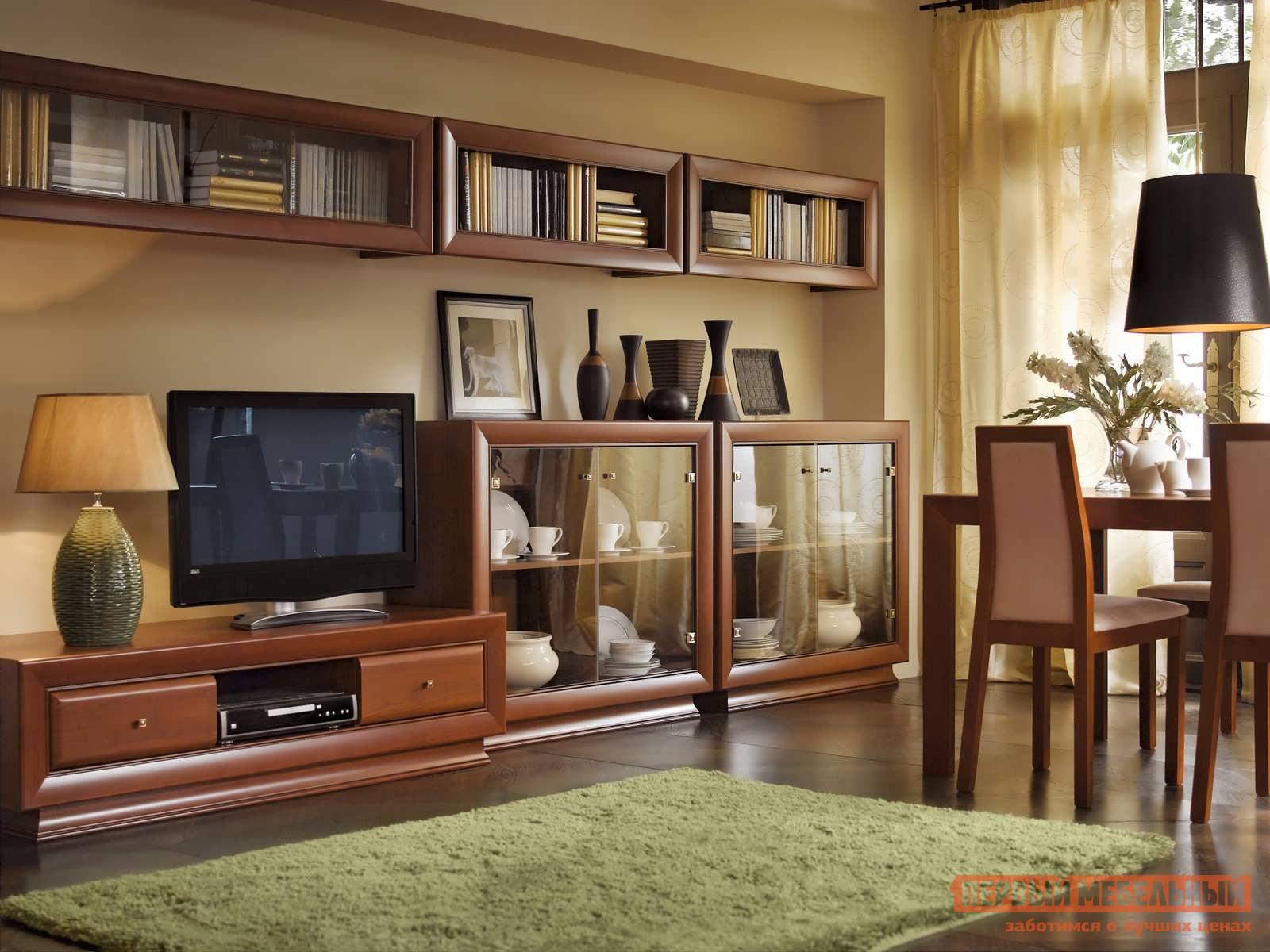 Стенка в гостиную Первый Мебельный Ларго Классик 1