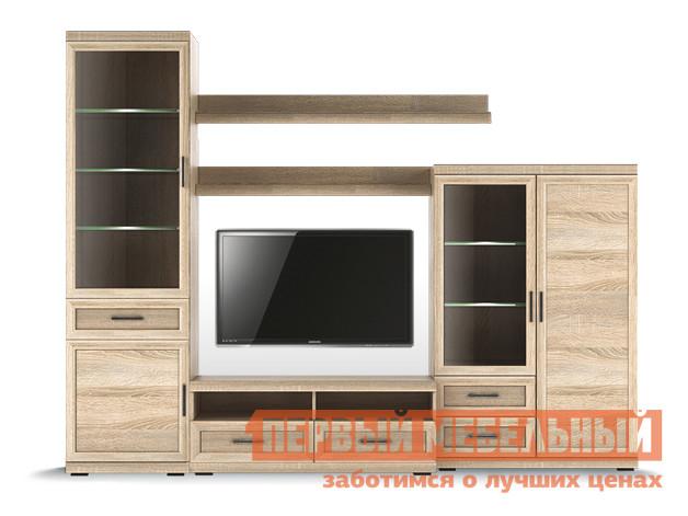 Стенка в гостиную Первый Мебельный Вега Прованс композиция 2 все цены