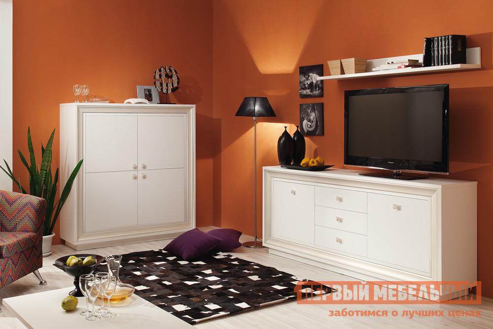 Модульная стенка в гостиную Первый Мебельный Прато 2 К4 модульная стенка ритм 1