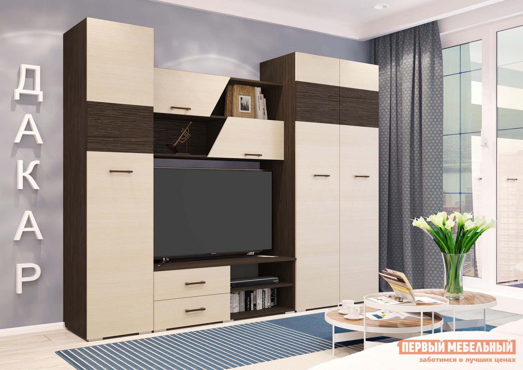 Стенка для гостиной Первый Мебельный Дакар стенка для гостиной первый мебельный белла секция