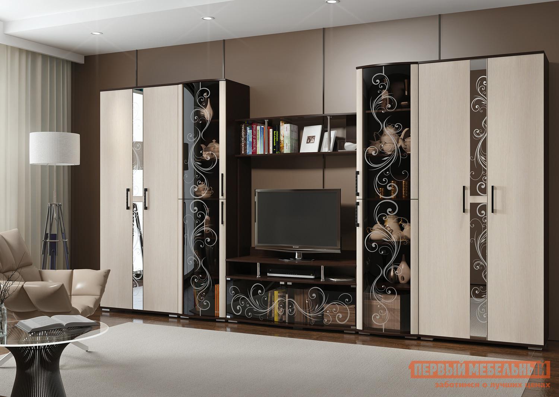 Стенка в гостиную Первый Мебельный Флоренция 4 стенка модерн 4
