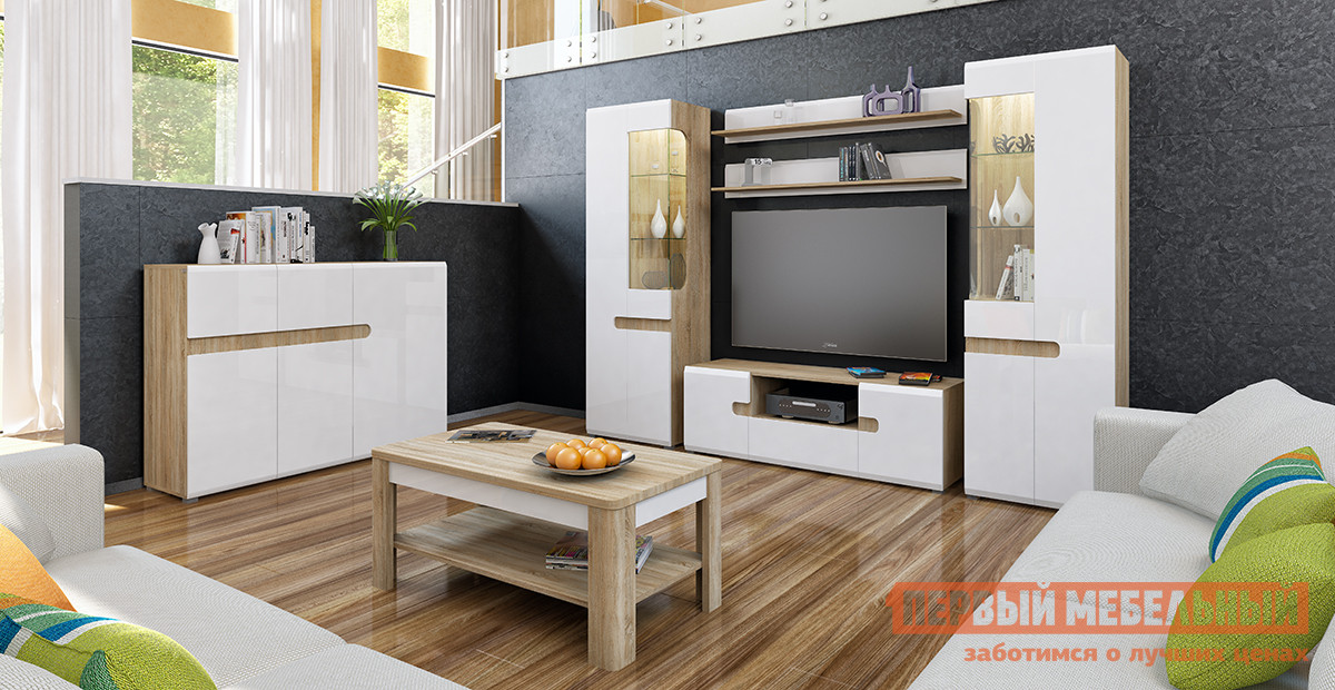 Гостиная Первый Мебельный Леонардо К1