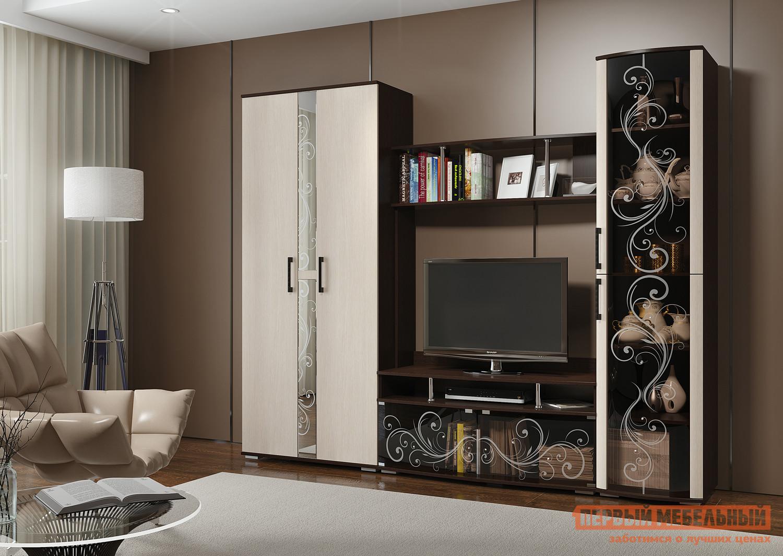Стенка в гостиную Первый Мебельный Флоренция 3 кабель usb 2 0 cablexpert am type c серия silver длина 3м красный блистер
