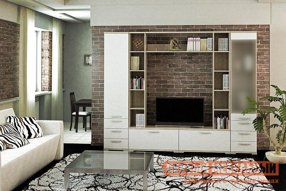 купить Глянцевая стенка в гостиную Первый Мебельный Гостиная Лейла 2 по цене 31020 рублей