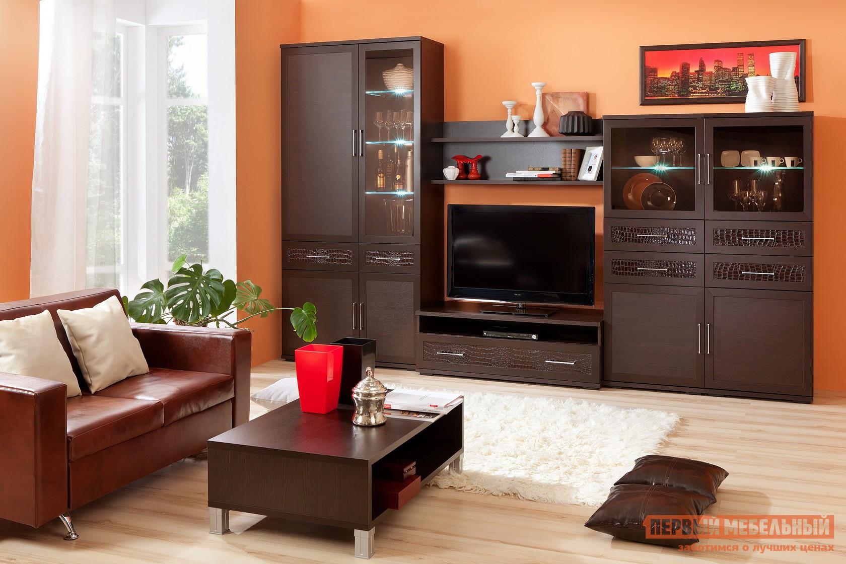 Стенка-горка в гостиную Первый Мебельный Парма Люкс К3