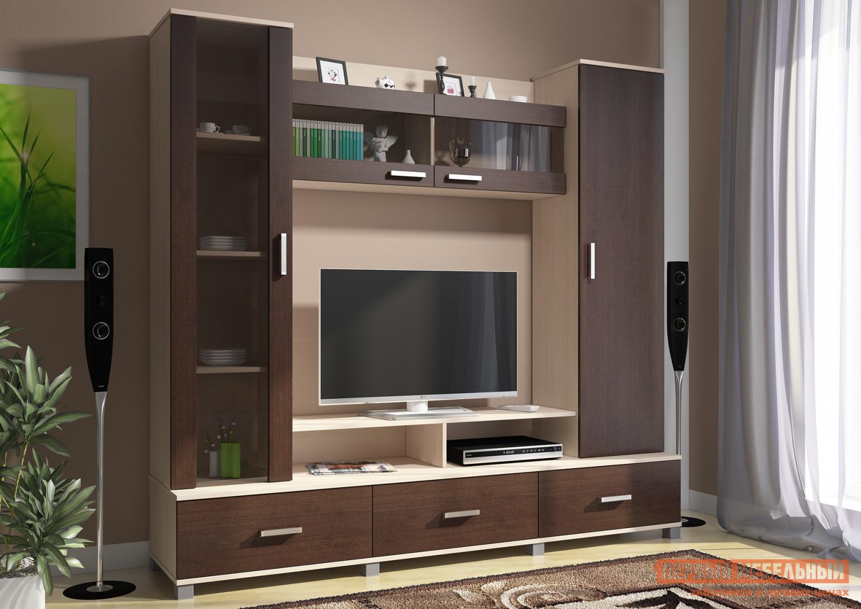 Стенка в гостиную Первый Мебельный Гостиная Соло 8 цены онлайн