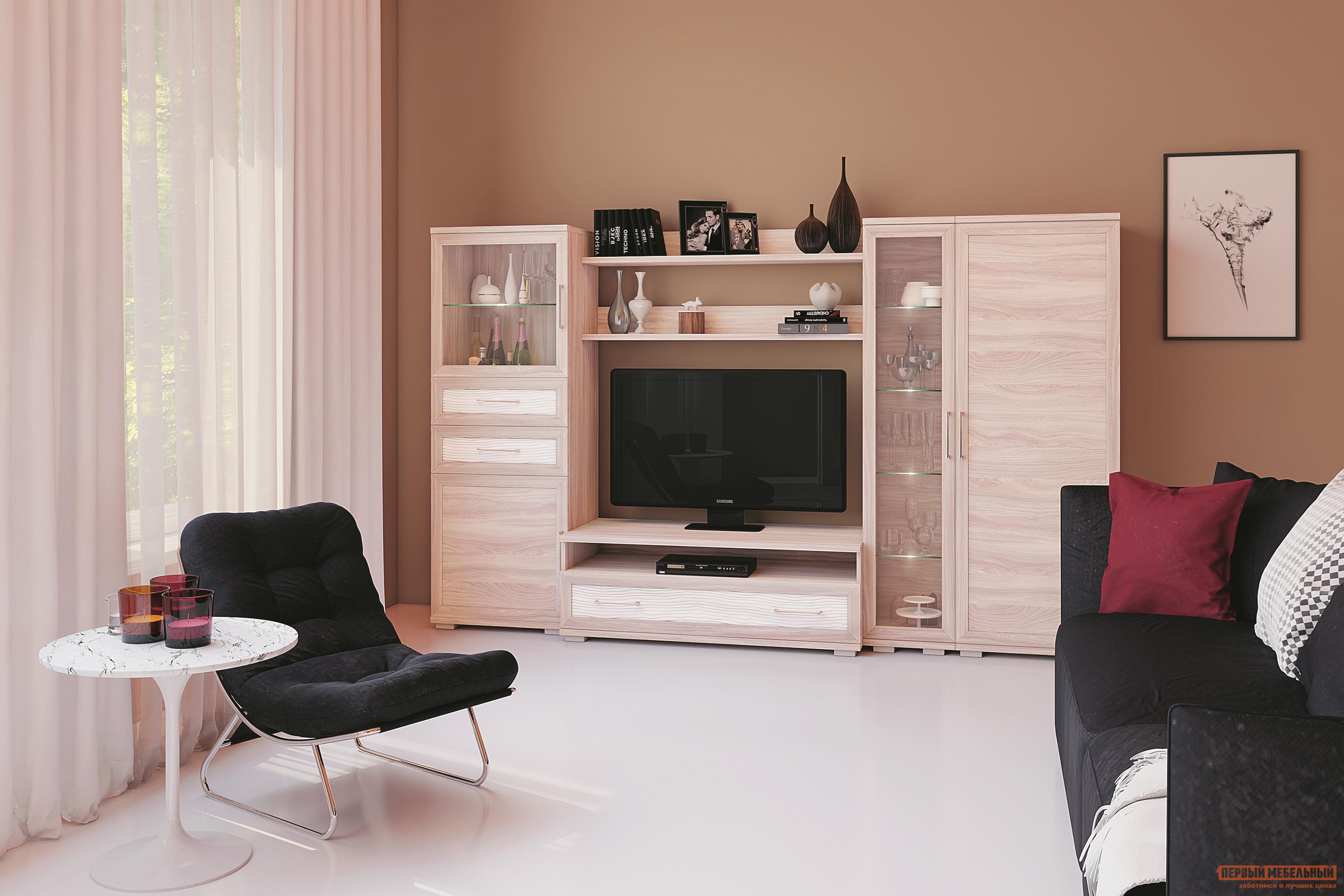 Стенка в гостиную Первый Мебельный Гостиная Парма 7 соковыжималка russell hobbs 20365 56