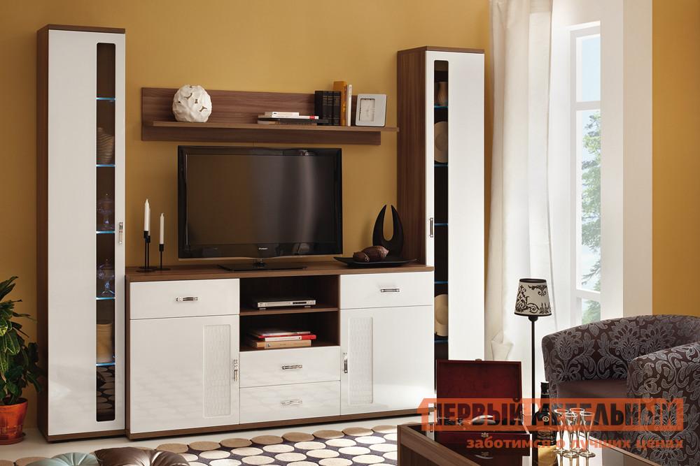 цена Глянцевая стенка в гостиную Первый Мебельный Вега Нео 2