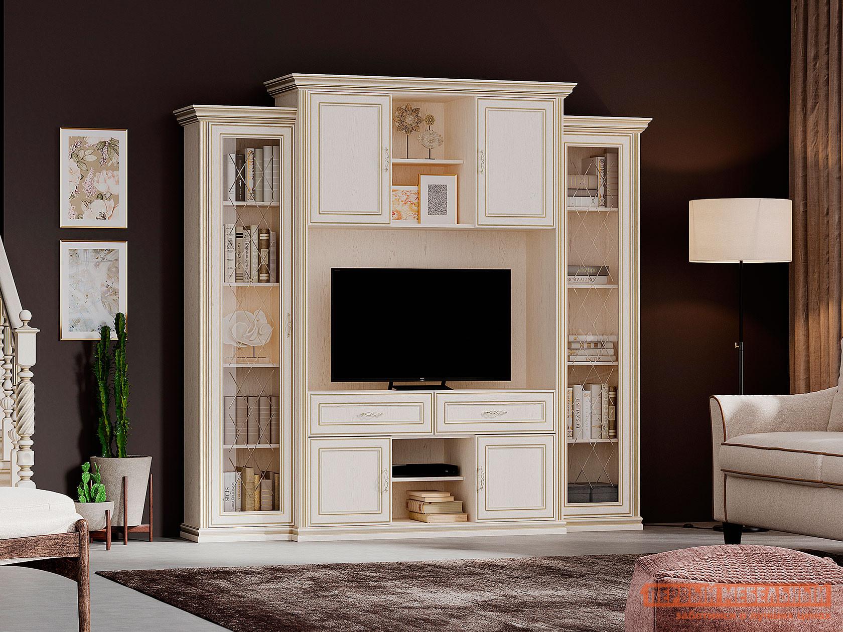 Гостиная Первый Мебельный Гостиная Венето ТВ-модуль