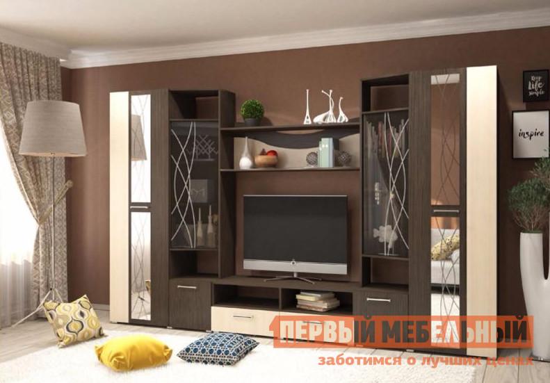 Стенка для гостиной Первый Мебельный Гамма стенка для гостиной первый мебельный белла секция