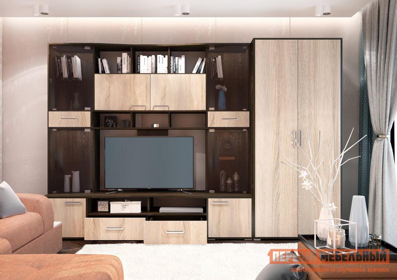Гостиная Первый Мебельный Полина Симпл 2 накладной светильник дубравия полина 106 41 24 2
