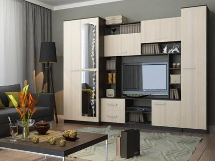 стенки в гостиную в стиле модерн купить недорого в москве от