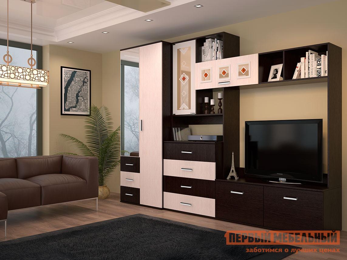 Стенка в гостиную Первый Мебельный Белла 2
