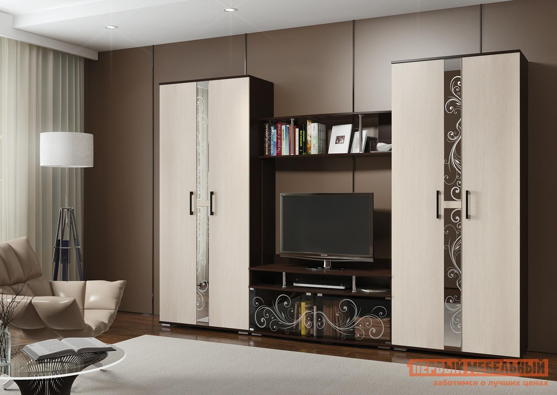 Стенка в гостиную Первый Мебельный Флоренция 2