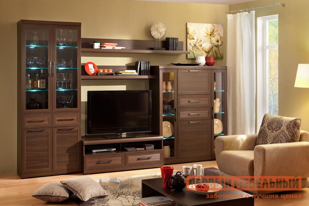 Стенка в гостиную Первый Мебельный Вега Прованс 2