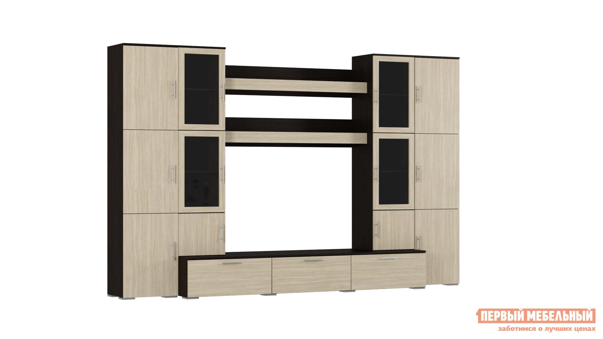Стенка для гостиной Первый Мебельный 20ГБВ стенка модерн 11