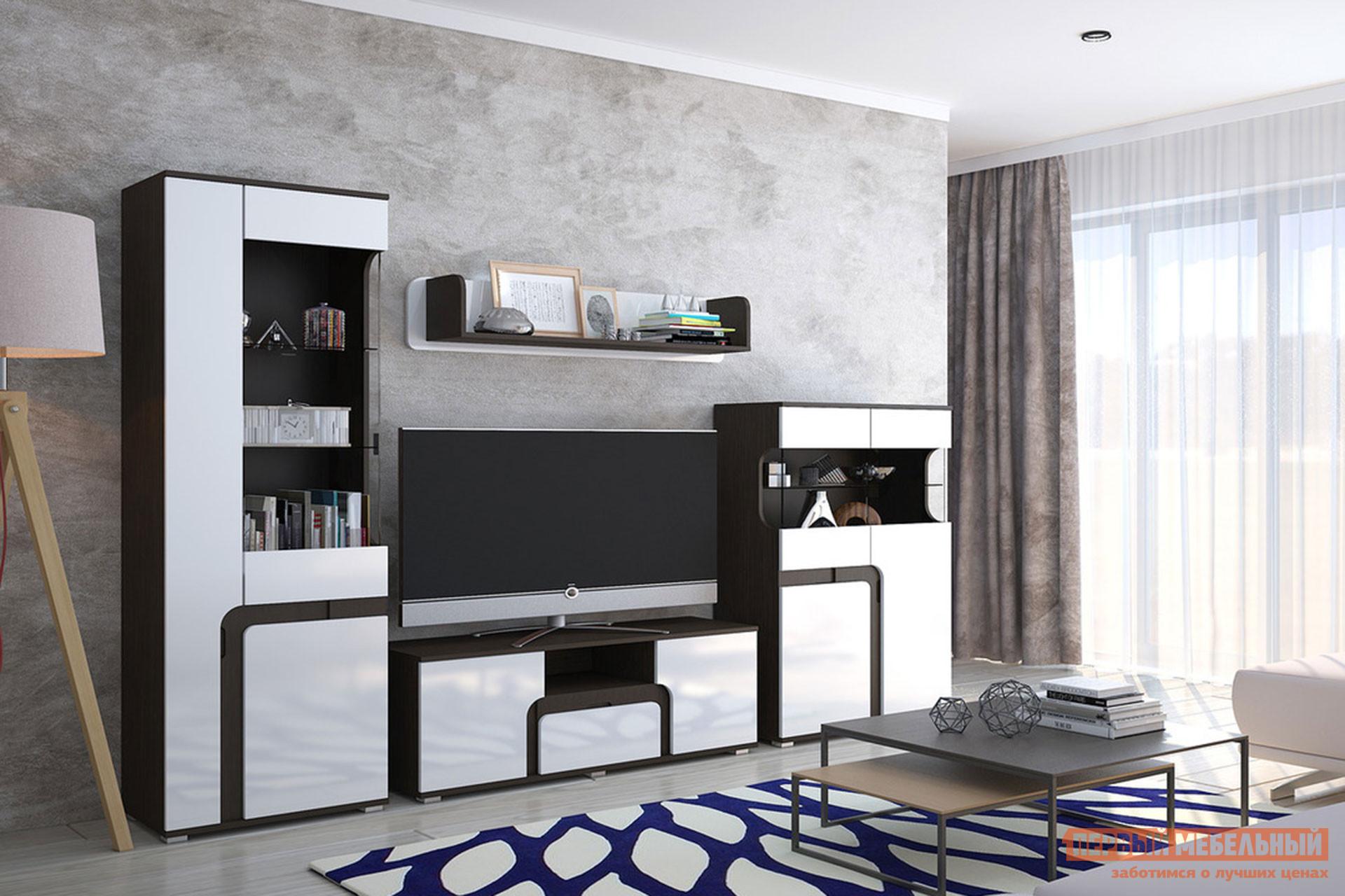Стенка-горка в гостиную Первый Мебельный Марсель