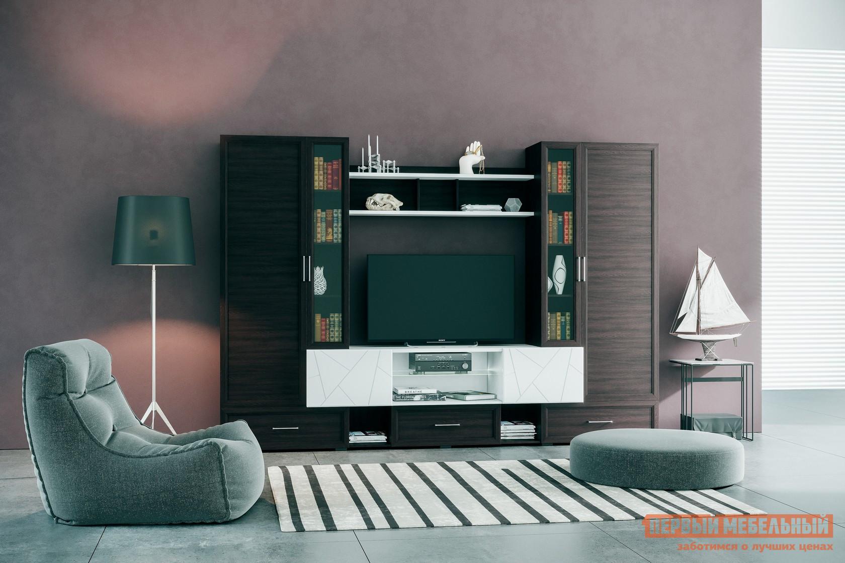 Стенка для гостиной Первый Мебельный Агат Нео стенка для гостиной первый мебельный белла секция