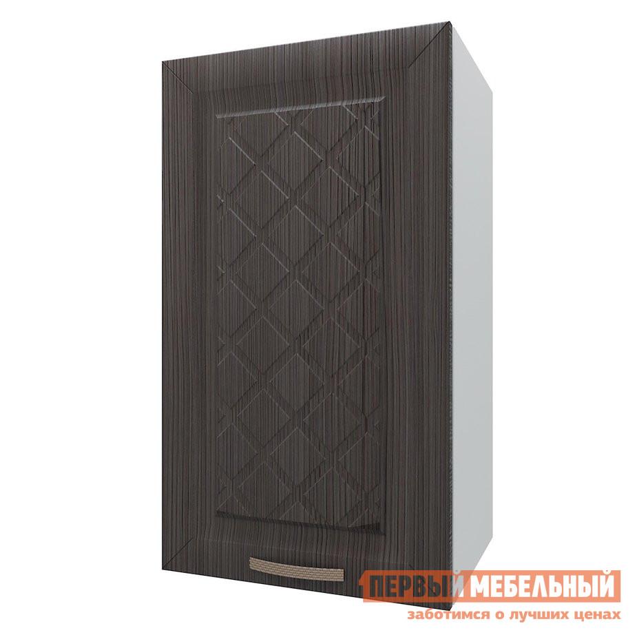 Кухонный модуль Шкаф 1 дверь 40 см Агава Лиственница темная фото