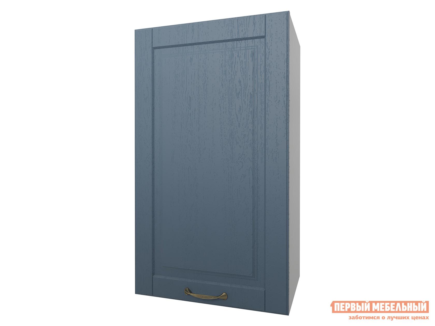 Шкаф с полками ПМ: РДМ Шкаф 1 дверь 40 см Палермо Деним