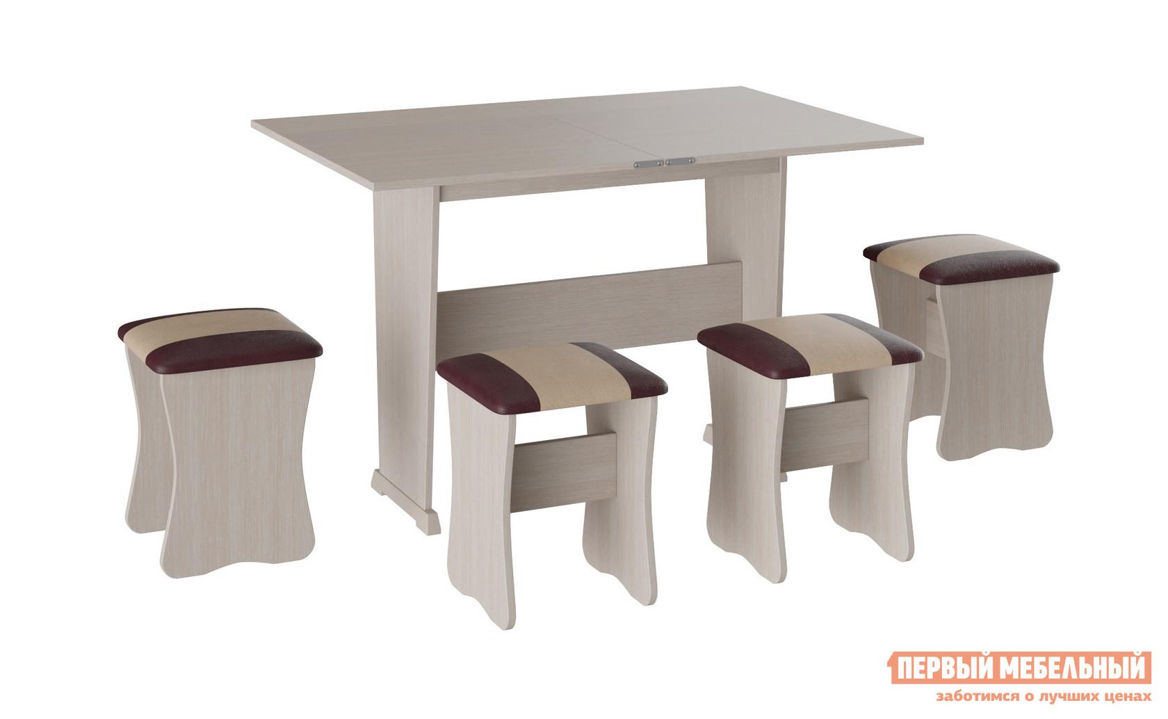 Обеденная группа для кухни Первый Мебельный Обеденная группа Рум 3 обеденная группа с круглым столом для кухни боровичи норония 4 диметра
