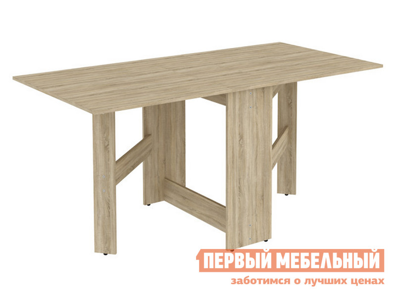 Кухонный стол  Стол-книжка Мерлен С05 Дуб Сонома Уют сервис 85566