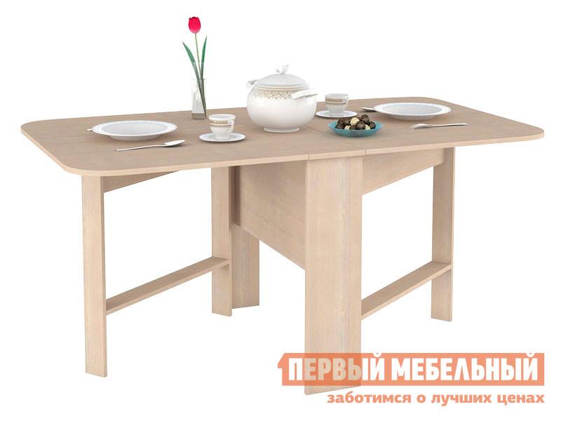 Кухонный стол Первый Мебельный Глория 609 Стол-книжка
