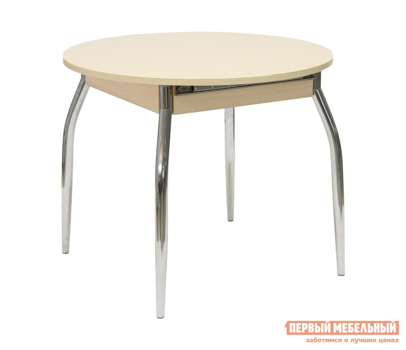Кухонный стол Первый Мебельный Стол обеденный Сицилия круглый