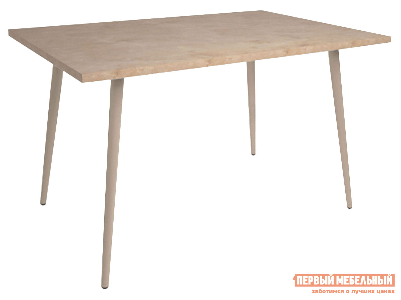 Кухонный стол  Браун Валенсия / Серо-бежевый, металл Мебвилл 124109
