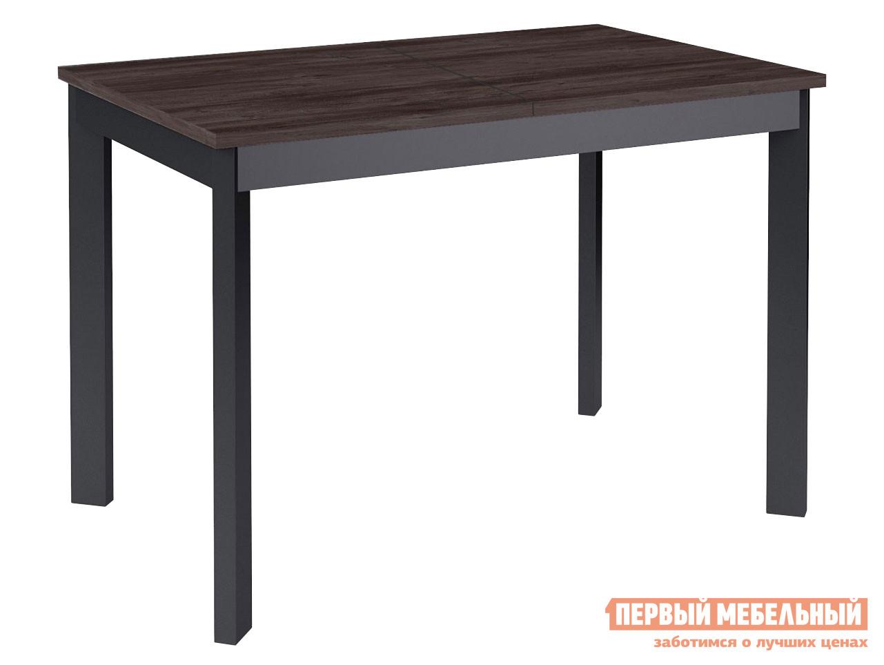 Кухонный стол  Dikline L111 Ясень Анкор темный / Черный ДИК 127308