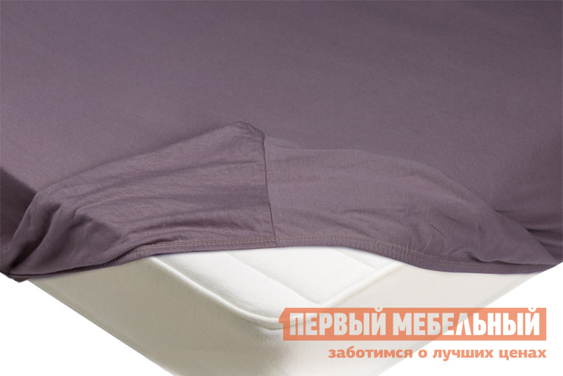 Простыня  Простыня на резинке трикотажная Бузина, 900 Х 2000 Х 200 мм
