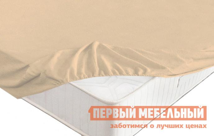 Простыня Первый Мебельный Простыня на резинке махровая простыня махровая fiera di venezia 200х220
