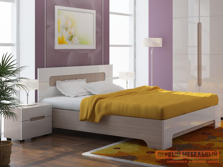 Полутороспальная кровать Первый Мебельный Палермо стенка палермо 12