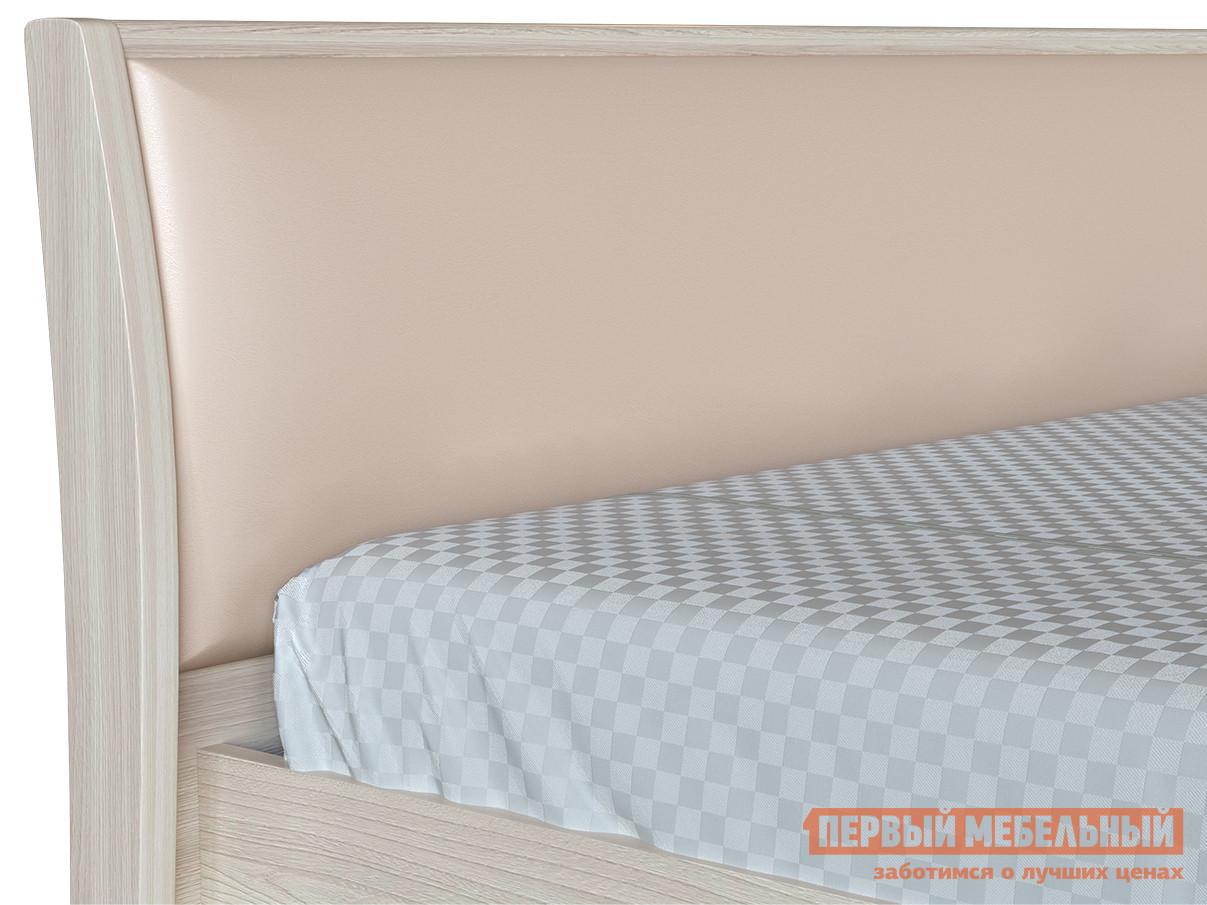 Полутороспальная кровать Первый Мебельный Прато 3-1,5 ПМ напольное зеркало первый мебельный прато вз