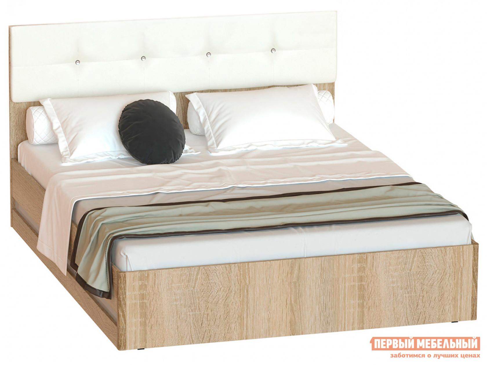 Двуспальная кровать Первый Мебельный Белладжио Кровать КР-05