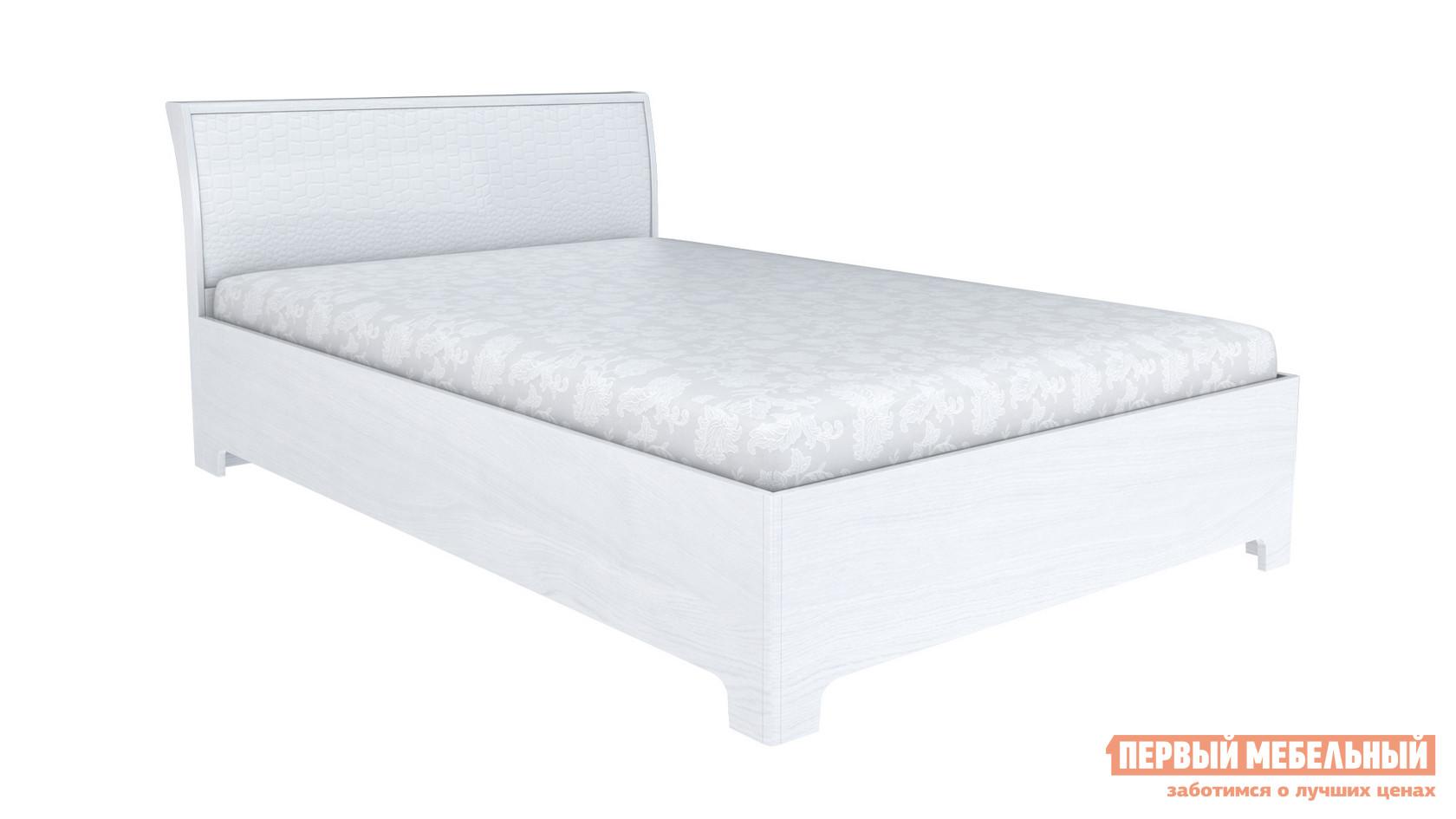 Полутороспальная кровать Первый Мебельный Капри 3-1,5 полутороспальная кровать первый мебельный кровать милана 140х200