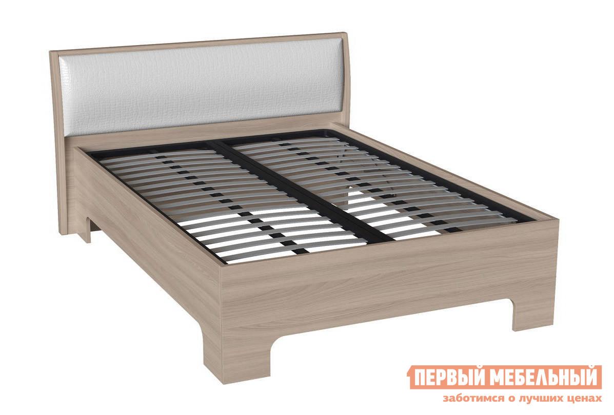 Полутороспальная кровать Первый Мебельный Сорренто 3-1,5 полутороспальная кровать первый мебельный кровать милана 140х200