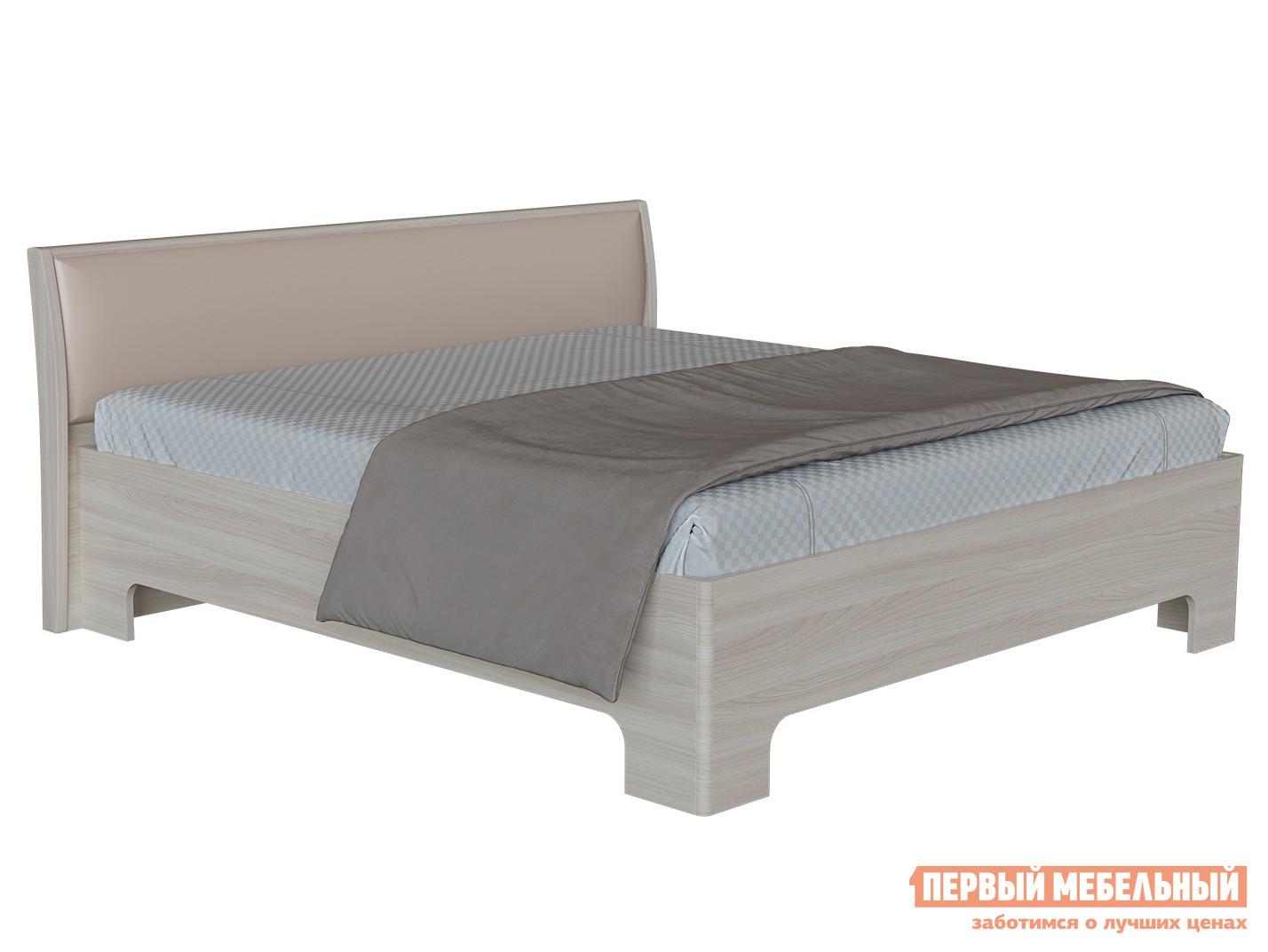 Полутороспальная кровать Первый Мебельный Прато 3-1,5 полутороспальная кровать первый мебельный кровать милана 140х200