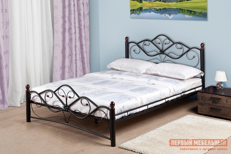 Полутороспальная кровать Первый Мебельный Веста 140х200 полутороспальная кровать первый мебельный кровать милана 140х200