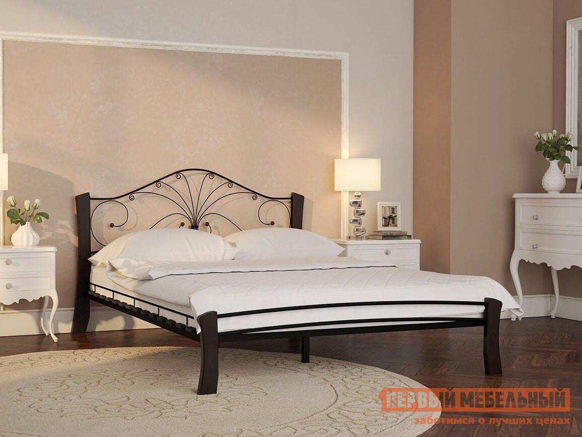 Полутороспальная кровать Первый Мебельный Сандра лайт 120х200 / 140х200 полутороспальная кровать первый мебельный кровать милана 140х200