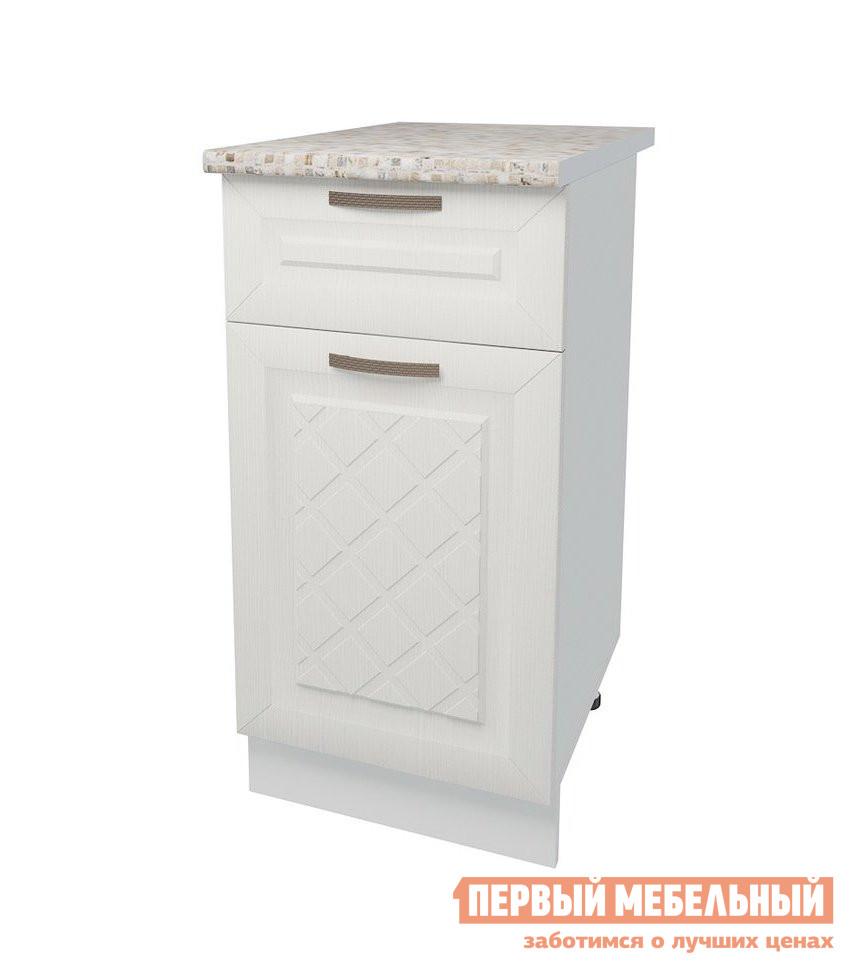 Кухонный модуль Первый Мебельный Стол 1 дверь 1 ящик 40 см Агава