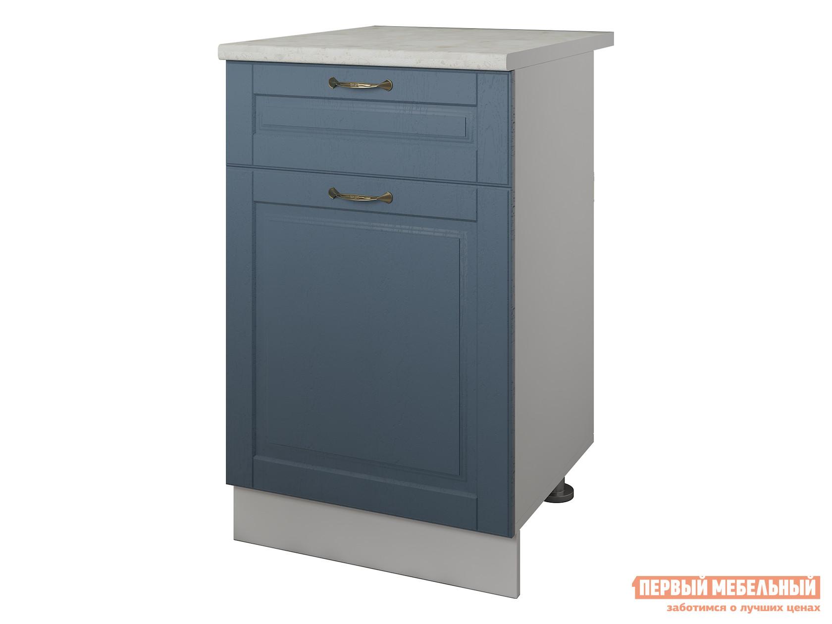 Кухонный модуль Первый Мебельный Палермо Тумба 500 с одним ящиком и одной дверцей